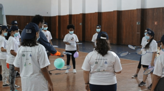 """Projeto """"Badminton: Esporte Olímpico"""""""