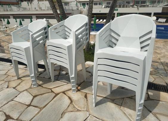 200 novas cadeiras para o complexo aquático