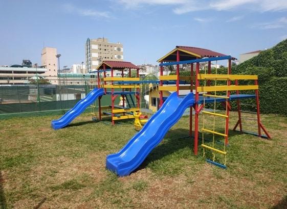 Playground é a nova atração no parquinho