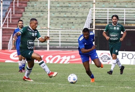Veteranos empatam com o Cruzeiro Master em 2 a 2